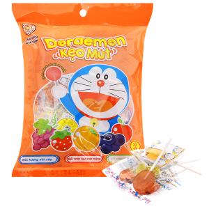 Kẹo mút trái cây Doraemon gói 140g