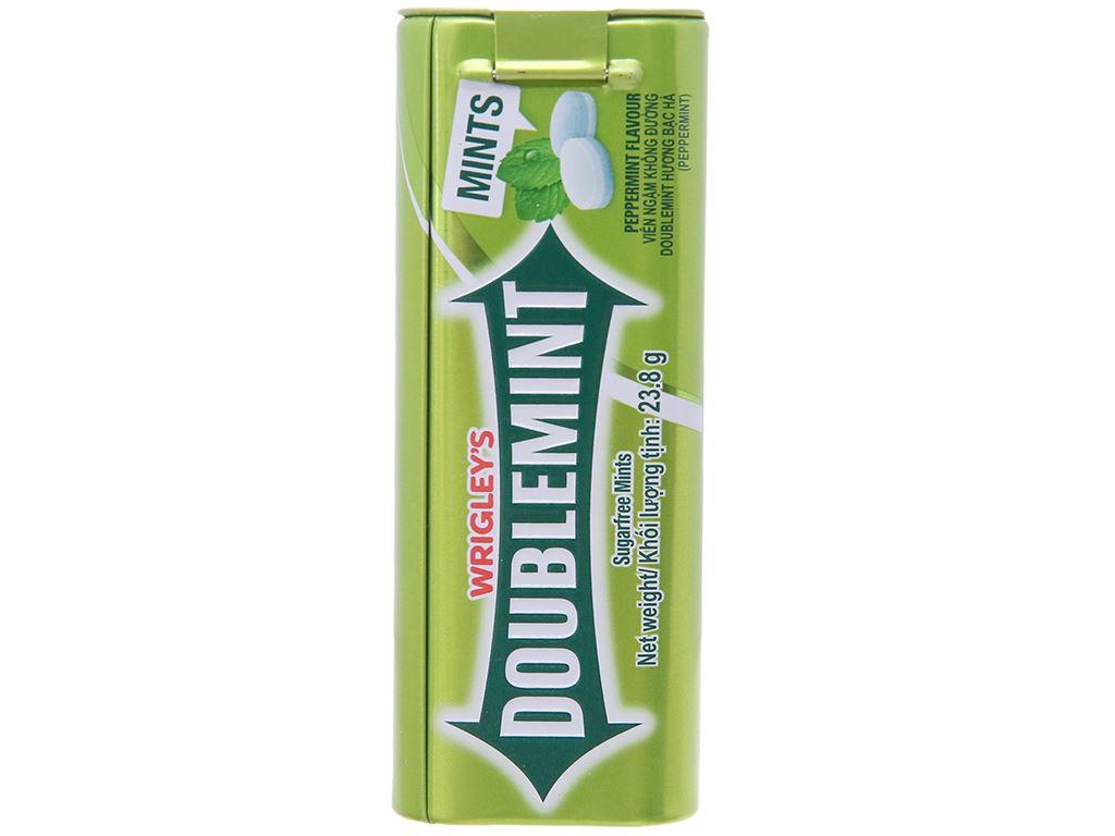 Viên ngậm không đường hương bạc hà DoubleMint hộp 23.8g 3