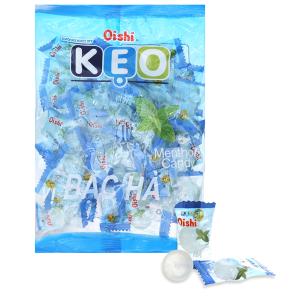 Kẹo bạc hà Oishi gói 160g