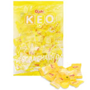 Kẹo soda chanh đá Oishi gói 160g