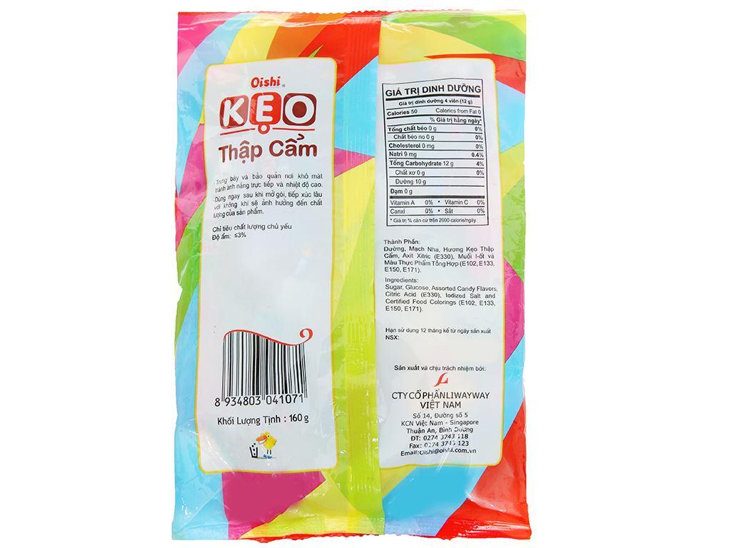 Kẹo ngậm trái cây thập cẩm Oishi gói 160g 2
