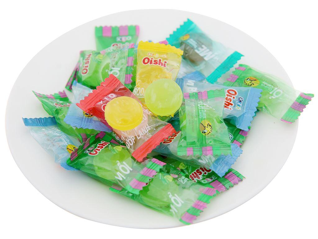 Kẹo ngậm trái cây thập cẩm Oishi gói 160g 3