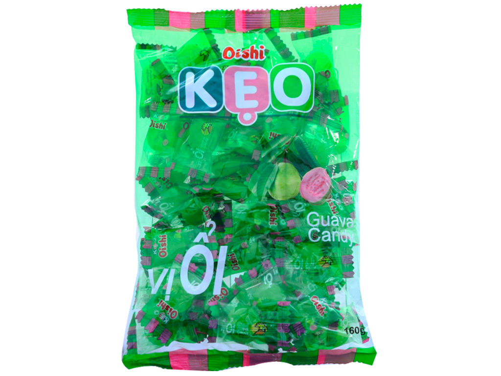 Kẹo ổi Oishi gói 160g 1