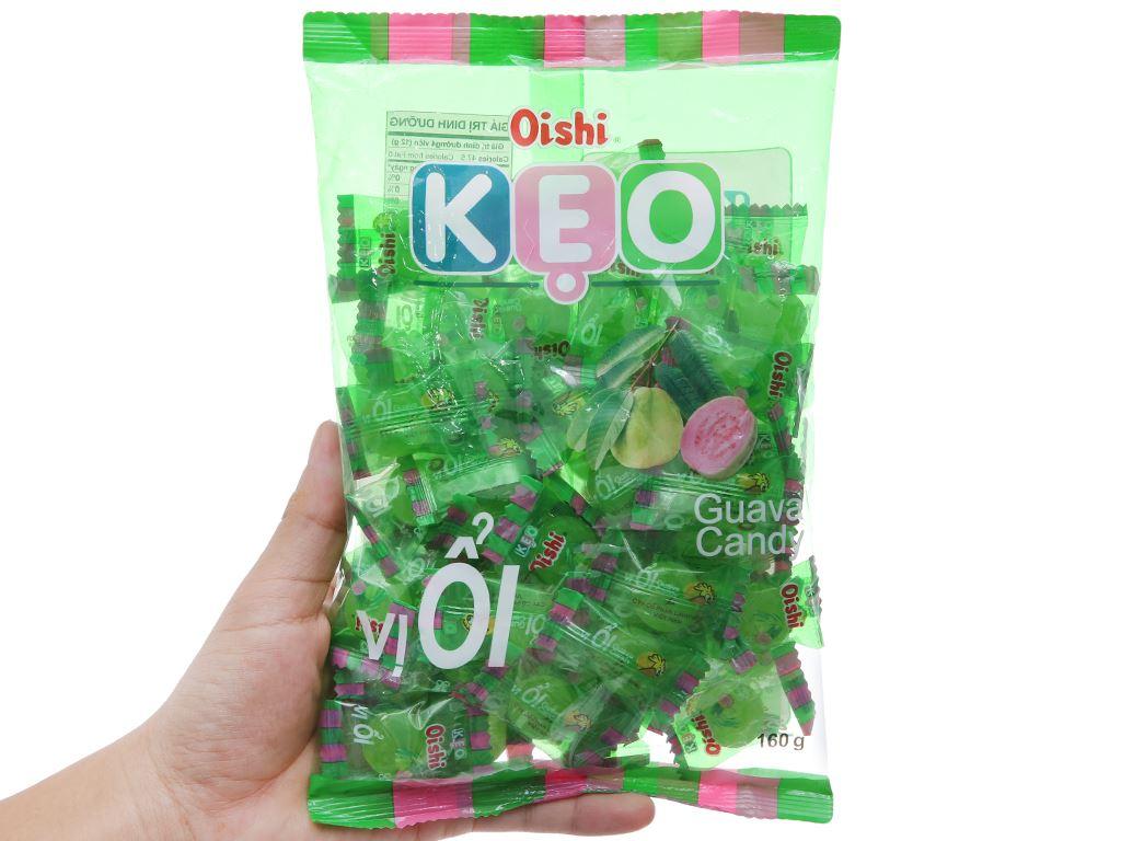 Kẹo ổi Oishi gói 160g 4