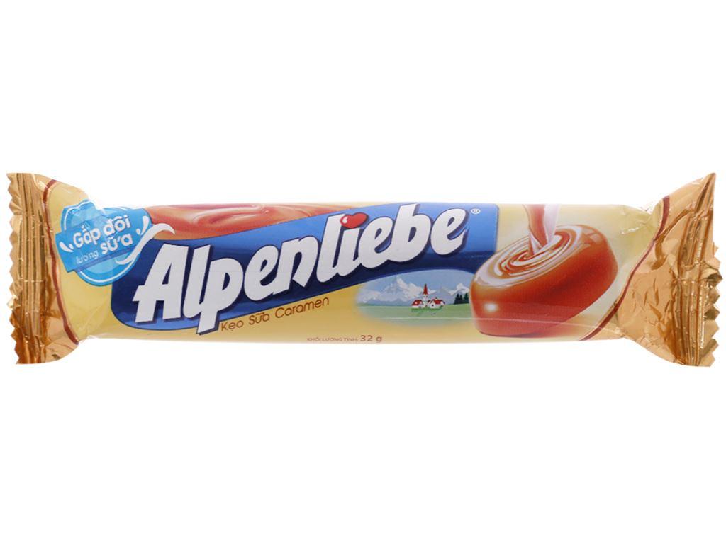 Kẹo sữa caramen Alpenliebe thỏi 32g 1