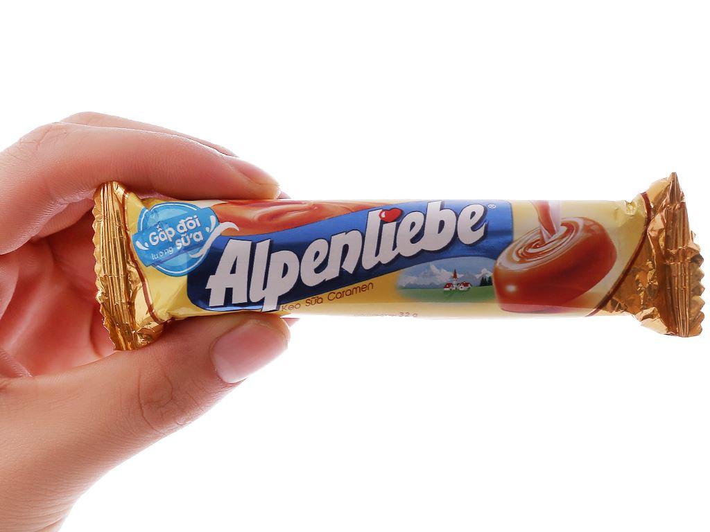 Kẹo sữa caramen Alpenliebe thỏi 32g 4