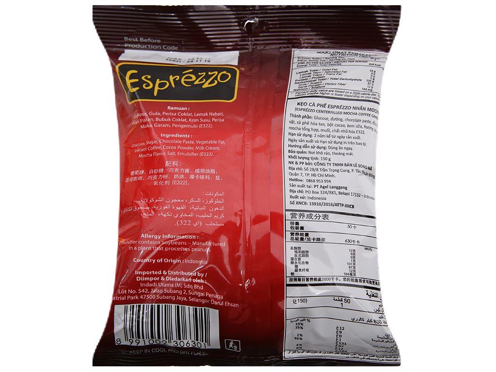 Kẹo cà phê nhân mocha Esprézzo 150g 3