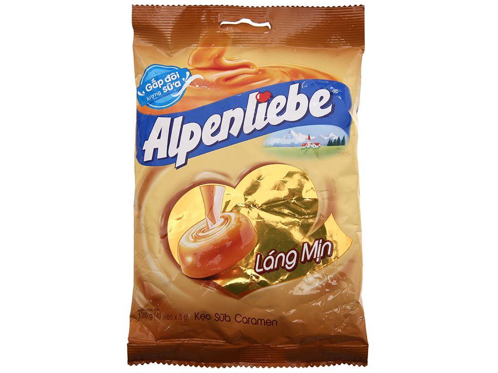 Kẹo ngậm sữa caramen Alpenliebe gói 120g 2