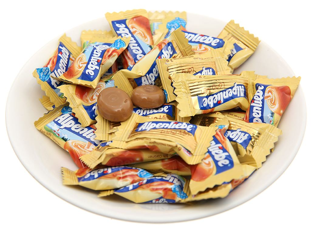 Kẹo ngậm sữa caramen Alpenliebe gói 120g 4