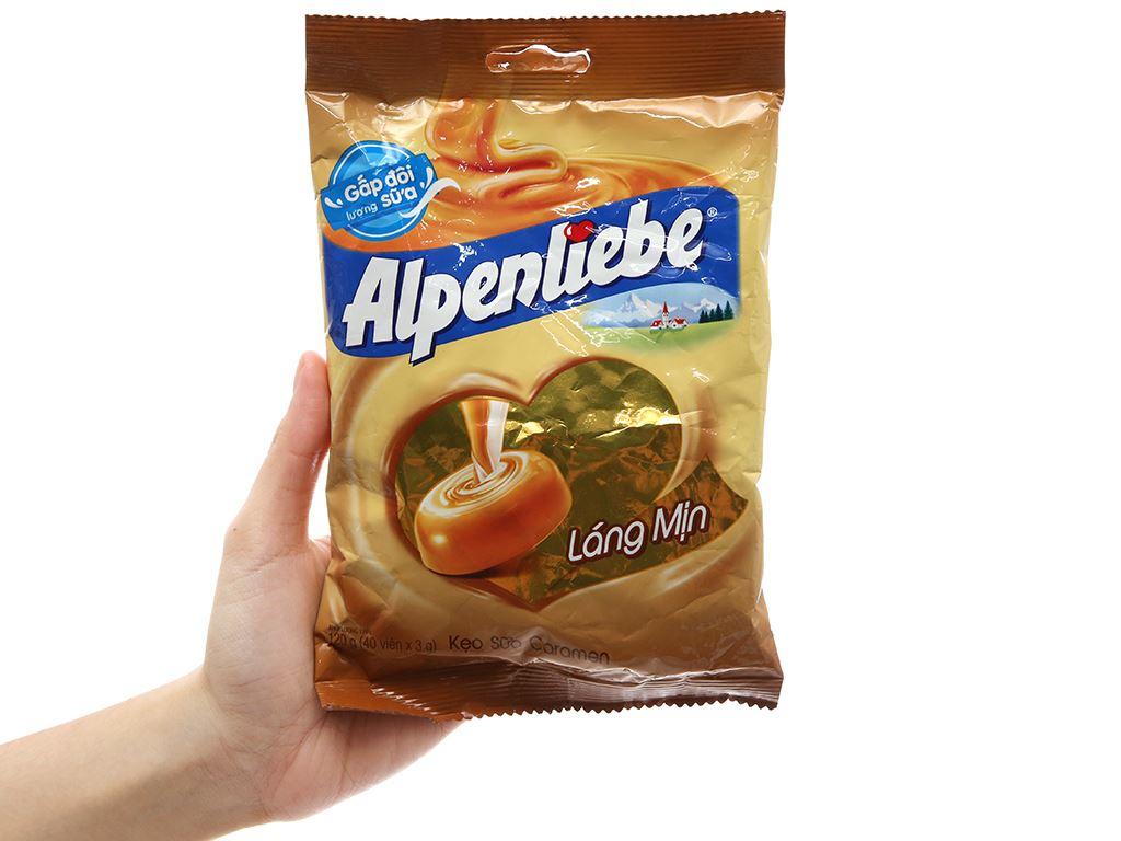 Kẹo ngậm sữa caramen Alpenliebe gói 120g 5