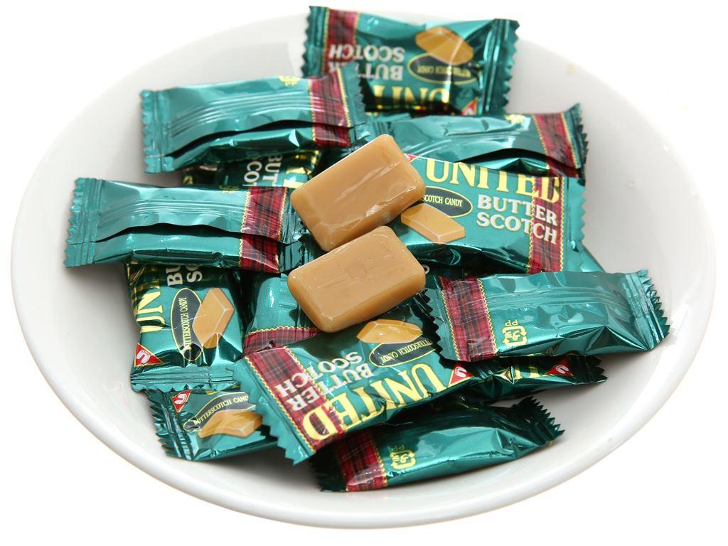 Kẹo bơ United Butter Scotch gói 140g 4