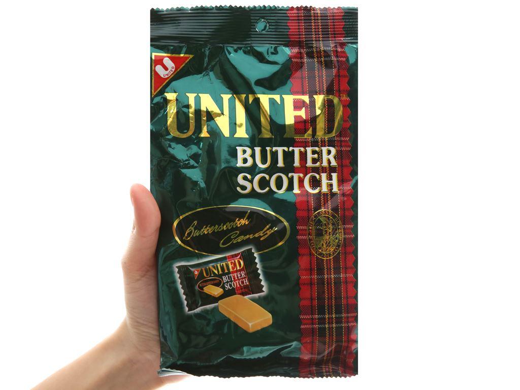 Kẹo bơ United Butter Scotch gói 140g 5