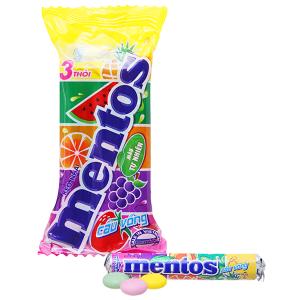 Kẹo nhai Mentos Cầu Vồng gói 90g