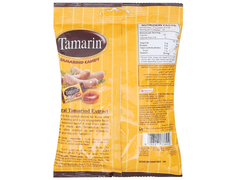 Kẹo ngậm vị me Tamarin gói 135g 3