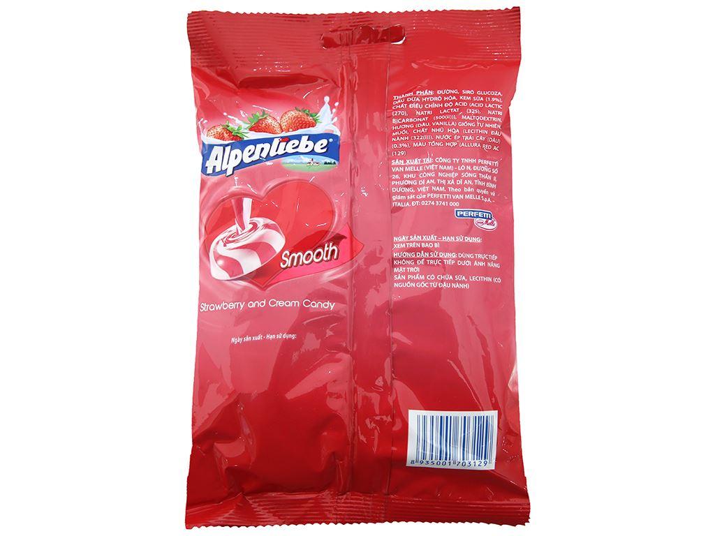 Kẹo hương kem dâu Alpenliebe gói 120g 2