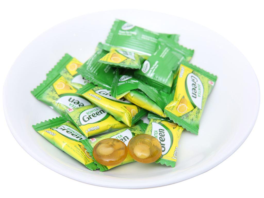 Kẹo trà xanh nhân chanh Bontea Green 135g 4