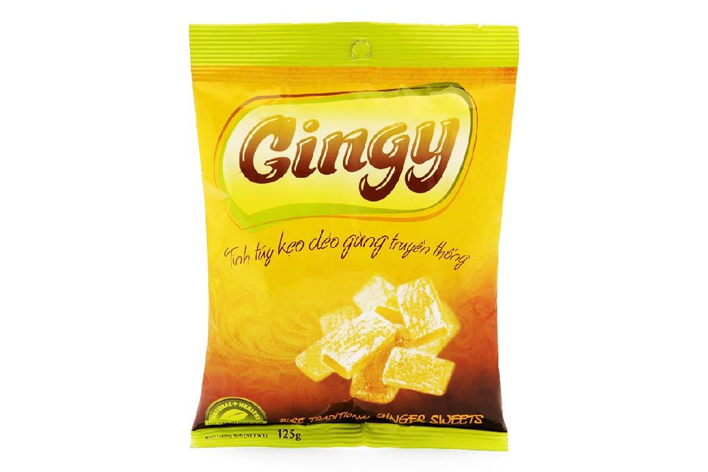 Kẹo dẻo Gừng Gingy gói 125g