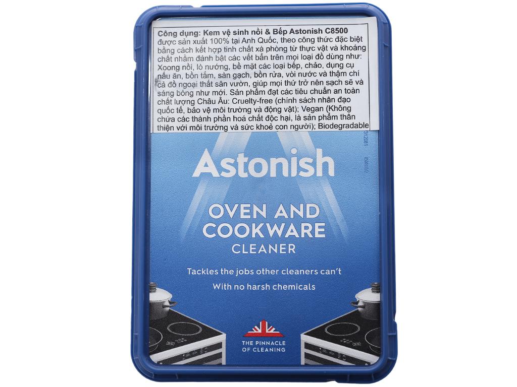 Kem vệ sinh nồi và bếp Astonish hộp 150g 1