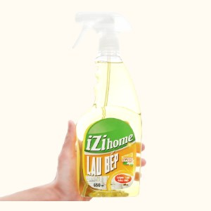 Nước lau bếp IZI HOME hương chanh chai 650ml