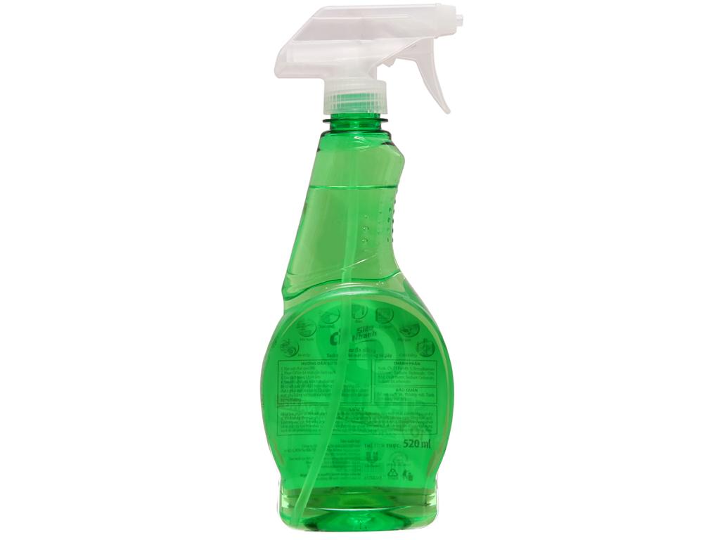 Nước tẩy đa năng Cif hương chanh chai 520ml 3