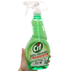 Nước tẩy đa năng Cif hương chanh 520ml