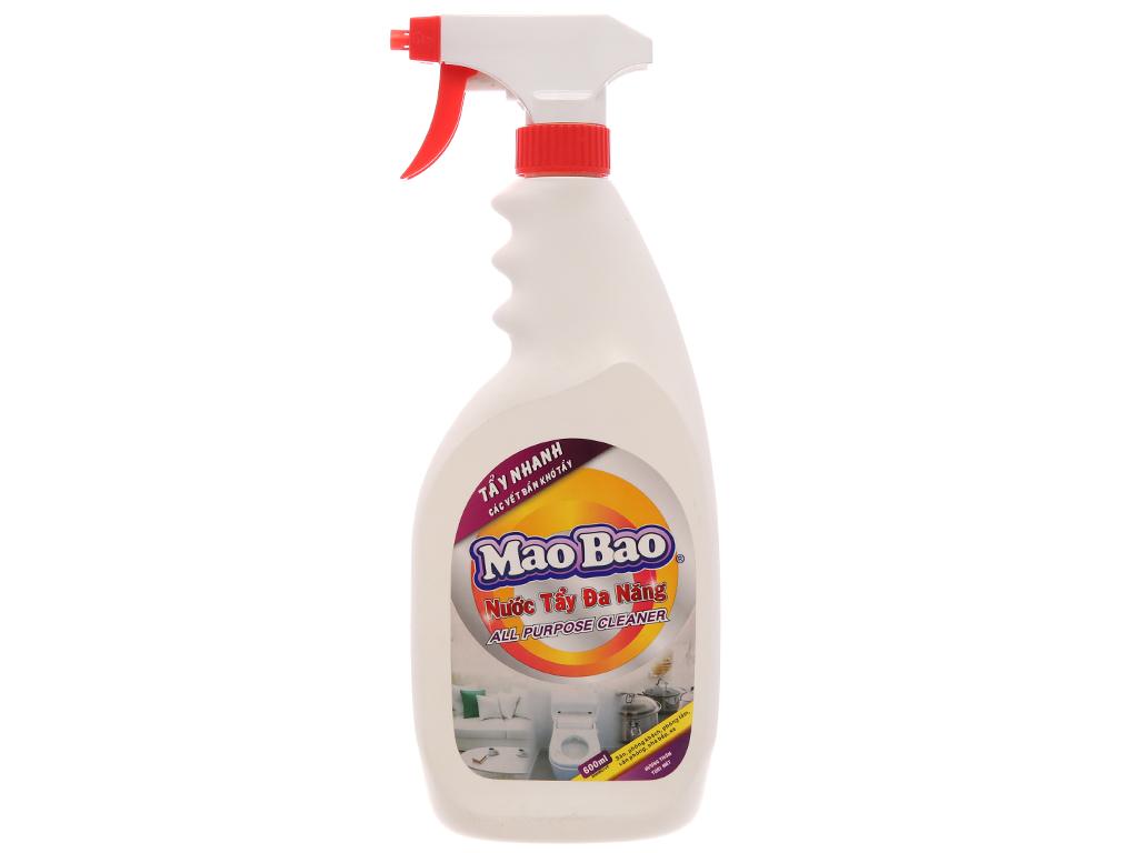 Nước tẩy đa năng Mao Bao 600ml 2
