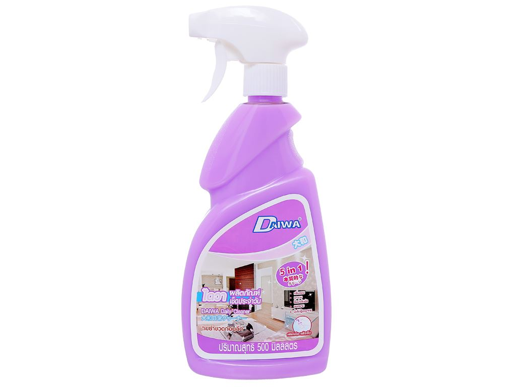 Nước tẩy đa năng Daiwa hương violet chai 500ml 1