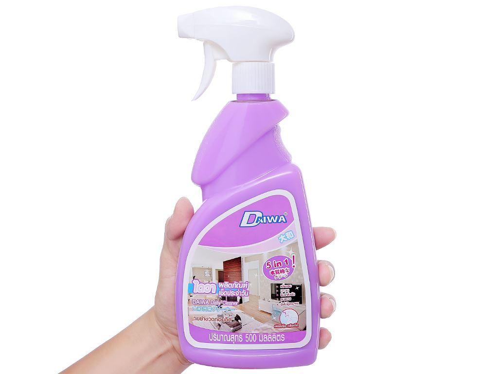 Nước tẩy đa năng Daiwa hương violet chai 500ml 3