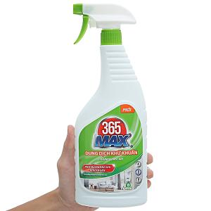 Dung dịch diệt khuẩn 365 Max chai 750ml