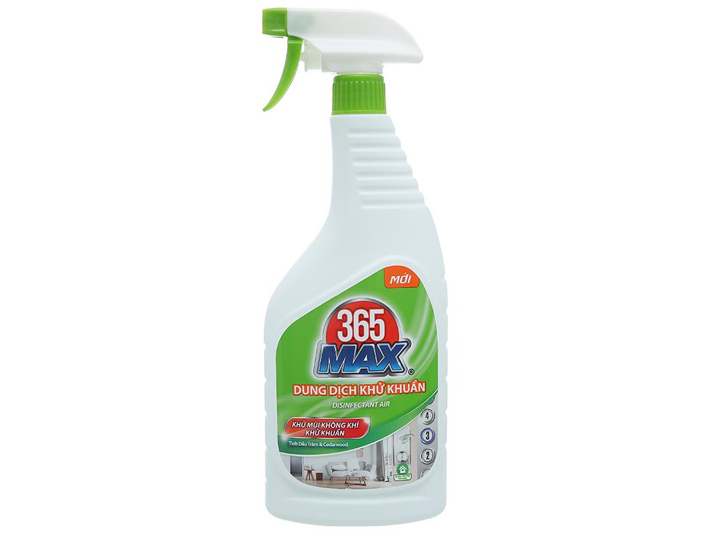 Dung dịch diệt khuẩn 365 Max chai 750ml 1