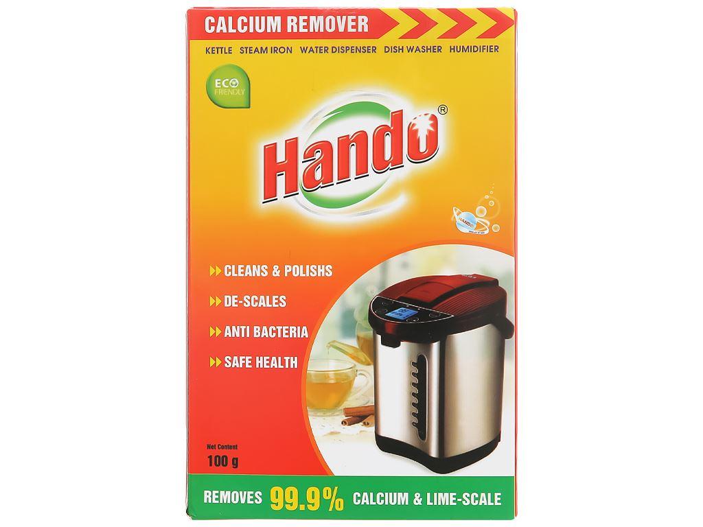 Bột tẩy cặn vôi Canxi Hando 100g 2