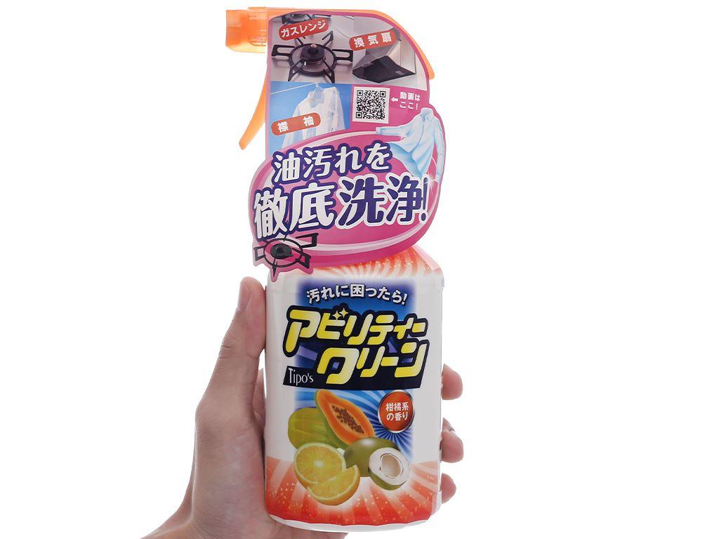 Dung dịch tẩy đa năng Tipo's hương trái cây chai 500ml 4