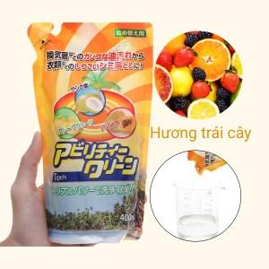 Dung dịch tẩy đa năng Tipo's hương trái cây gói 400ml