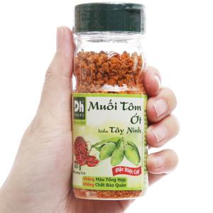 Muối tôm ớt kiểu Tây Ninh Dh Foods hũ 60g