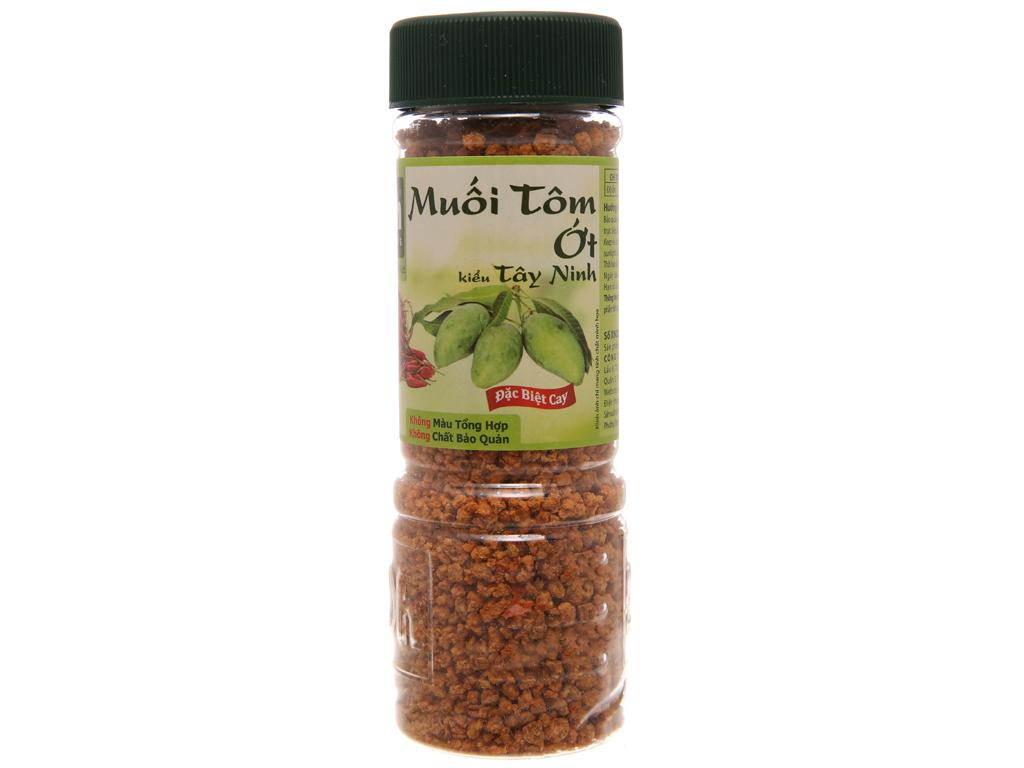 Muối tôm ớt kiểu Tây Ninh Dh Foods hũ 120g 1