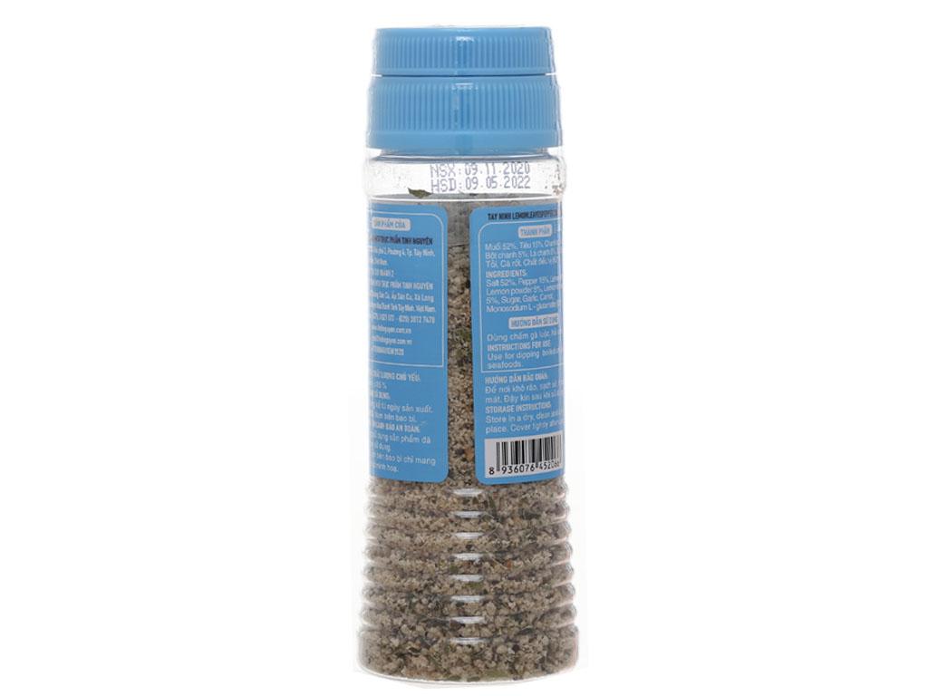 Muối tiêu lá chanh Tinh Nguyên hũ 90g 2