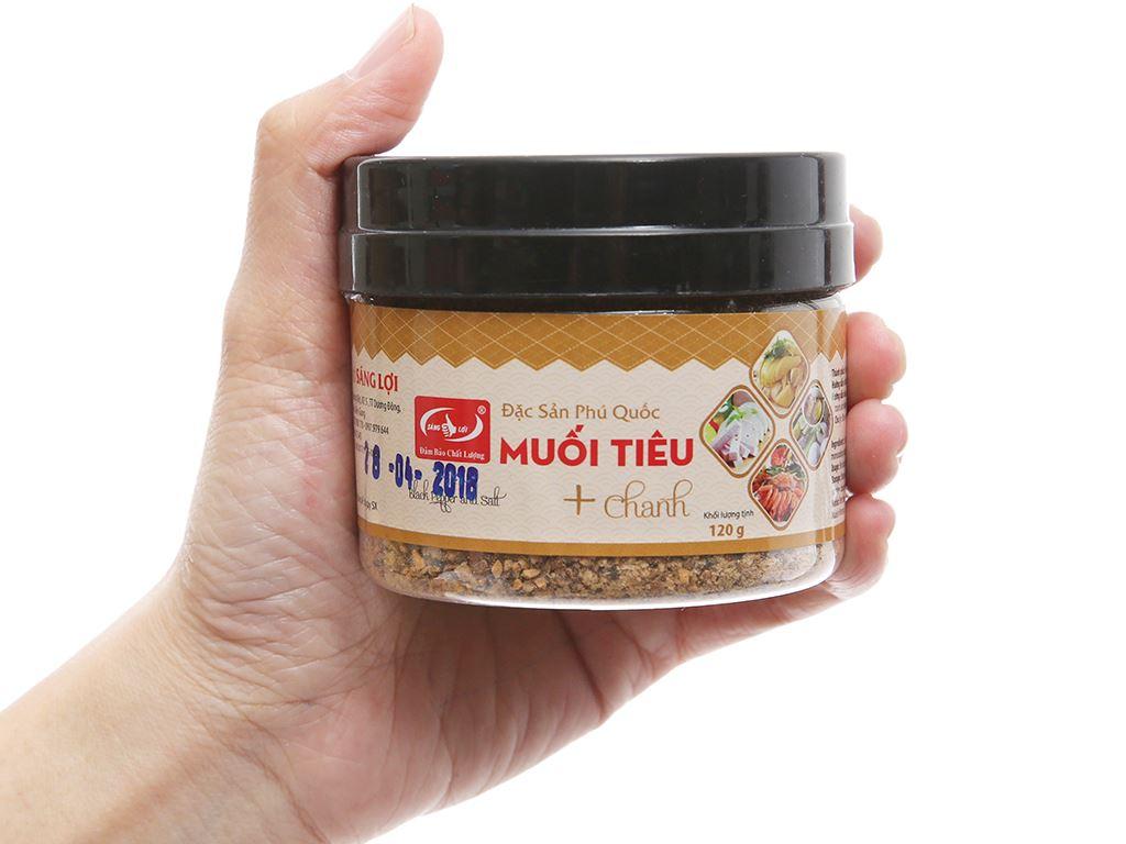 Muối tiêu chanh Phú Quốc Sáng Lợi hũ 120g 3