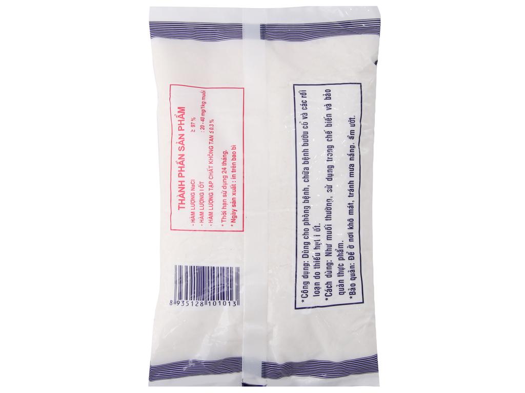 Muối I-ốt Bạc Liêu đặc biệt gói 500g 3