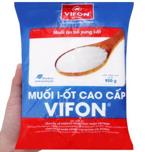 Muối I-ốt cao cấp Vifon gói 950g
