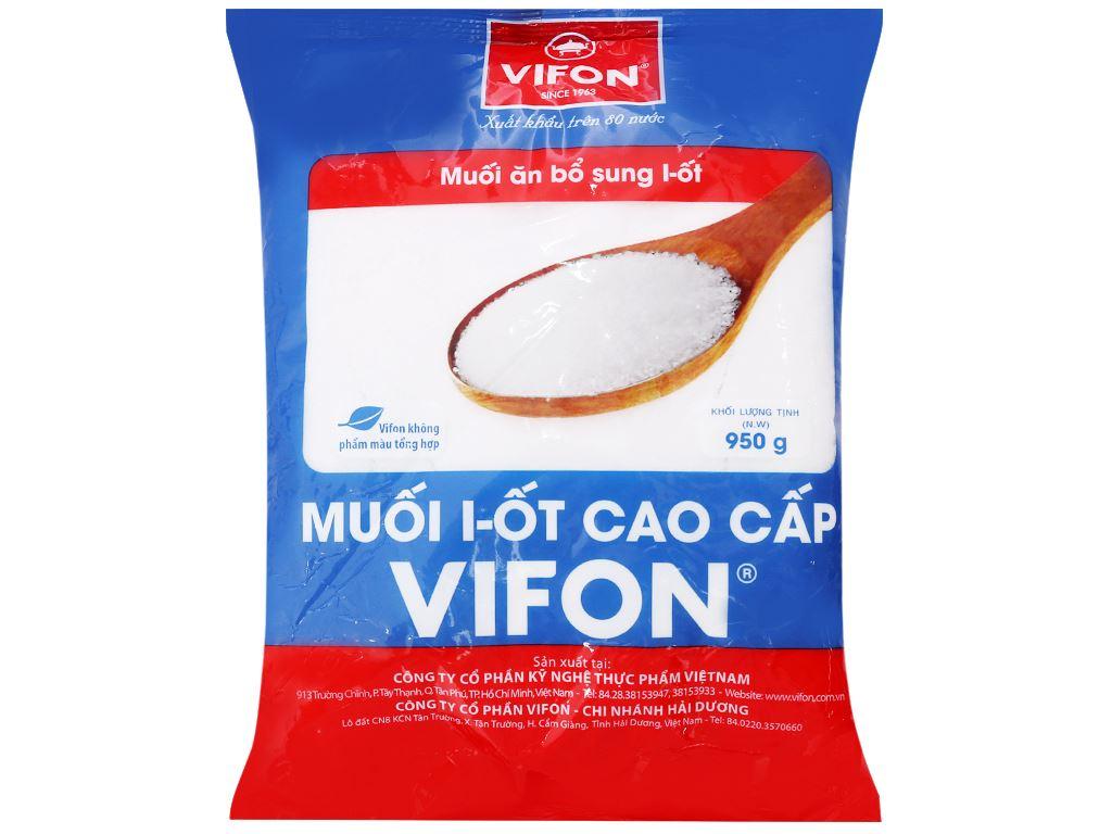 Muối I-ốt cao cấp Vifon gói 950g 1