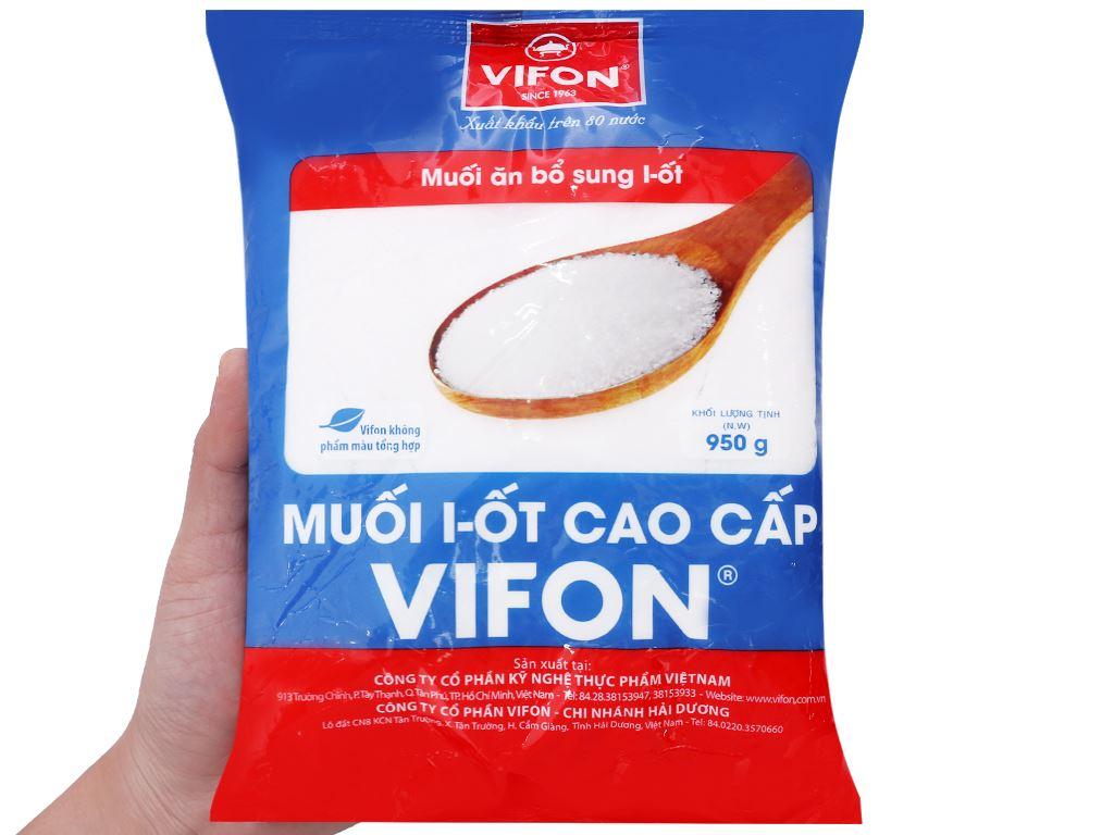 Muối I-ốt cao cấp Vifon gói 950g 3