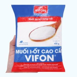 Muối I-ốt cao cấp Vifon gói 450g