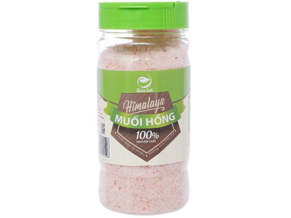 Muối hồng Himalaya hạt nhỏ Auro Salt hũ 250g 1