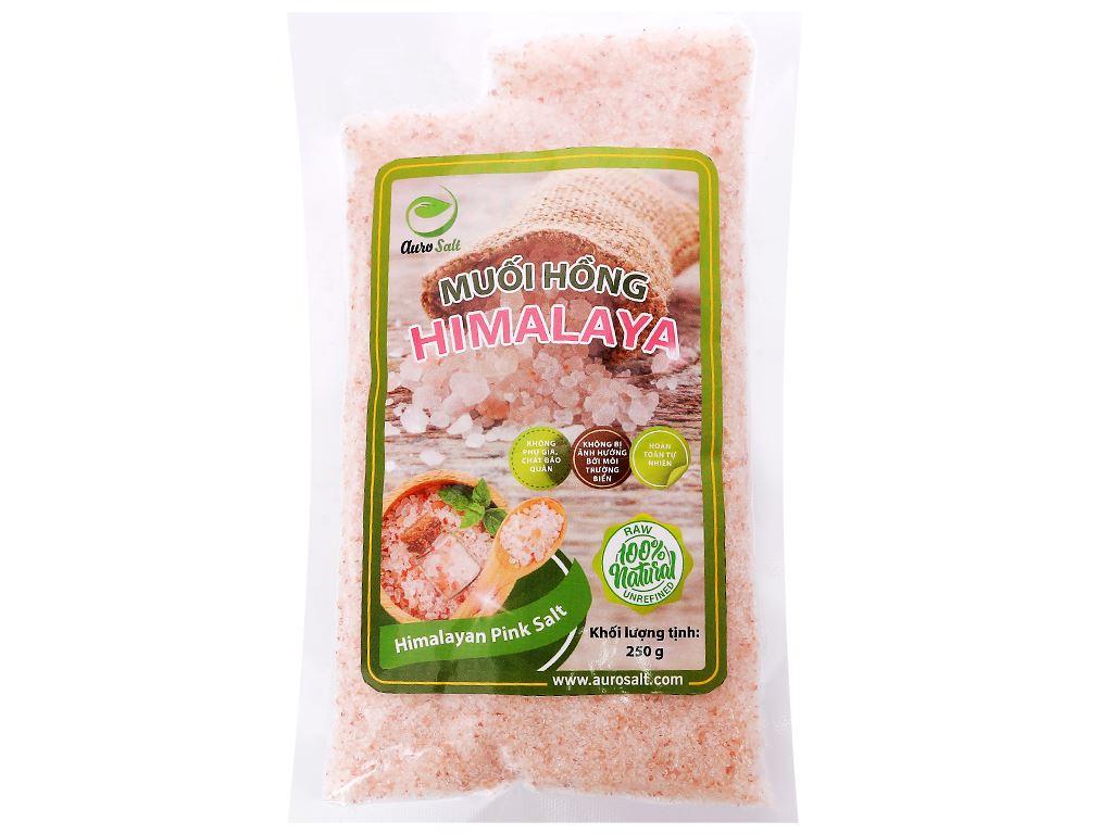 Muối hồng Himalaya hạt nhỏ Auro Salt gói 250g 1