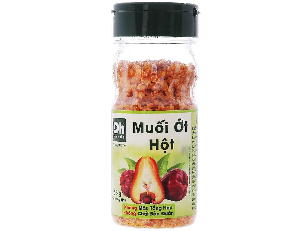 Muối ớt hột Dh Foods hũ 65g 1