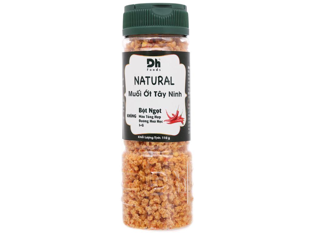 Muối ớt Tây Ninh Dh Foods Natural hũ 110g 1