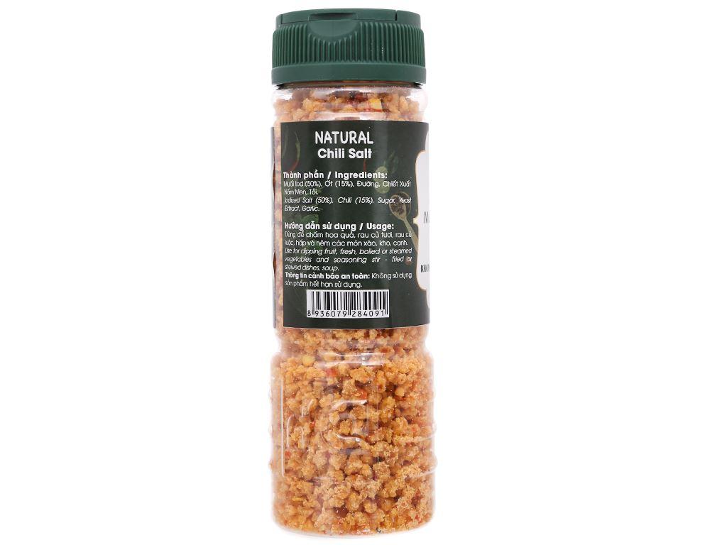 Muối ớt Tây Ninh Dh Foods Natural hũ 110g 2