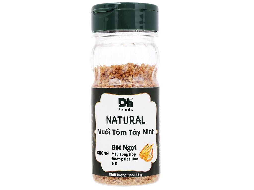 Muối tôm Tây Ninh Dh Foods Natural hũ 55g 1