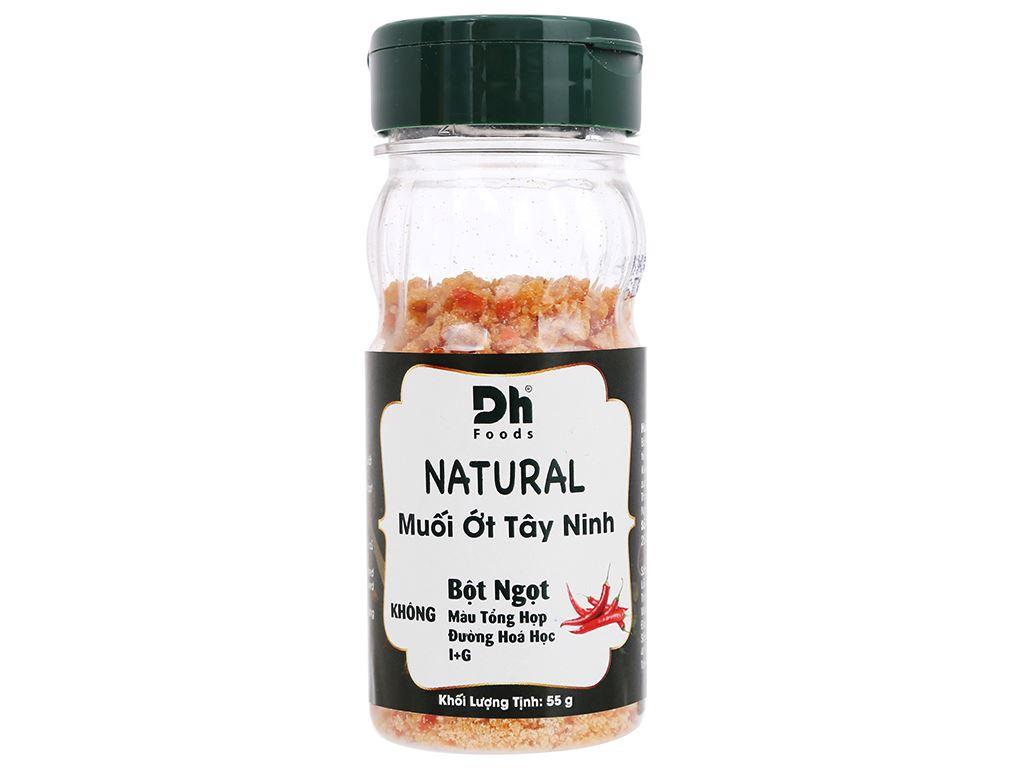 Muối ớt Tây Ninh Dh Foods Natural hũ 55g 1