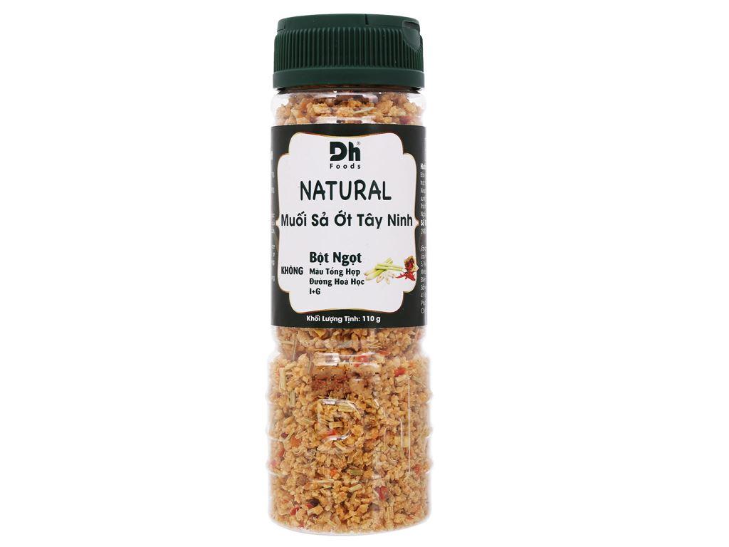 Muối sả ớt Tây Ninh Dh Foods Natural hũ 110g 1